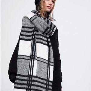 Zara's! Plaid soft touch scarf!
